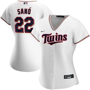 Nike Women's Nike Miguel Sano White Minnesota Twins Home 2020 Replica Player Jersey, Size: Large