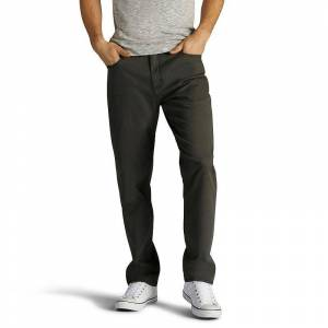 Lee Men's Lee Extreme Motion Stretch Athletic-Fit Jeans, Size: 38X34, Dark Grey