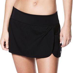 Nike Women's Nike Swim Solid Boardskirt, Size: XXL, Black