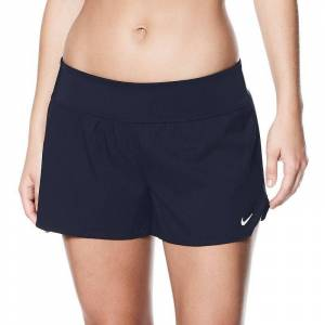 Nike Women's Nike Solid Boardshort Swim Bottoms, Size: XXL, Turquoise/Blue