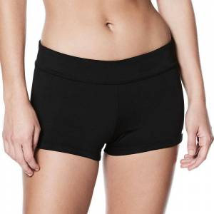 Nike Women's Nike Essential Kick Swim Shorts, Size: XXL, Black