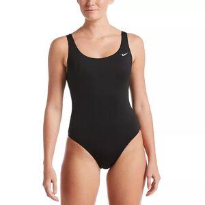 Nike Women's Nike Essential U-Back One Piece Swimsuit, Size: XXL, Black