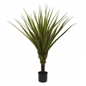 nearly natural 5-ft. Spiked Agave Tree, Green
