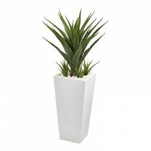 nearly natural Artificial Spiky Agave Plant, Green