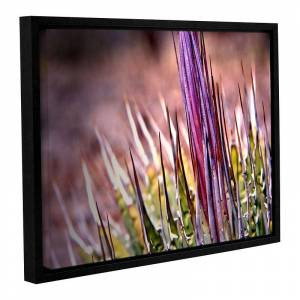 ArtWall Agave Framed Wall Art, Purple, 24X32