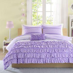 Zone Mi Zone Ellen Comforter Set, Purple, Twin XL