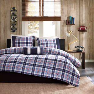 Zone Mi Zone Alton Plaid Comforter Set, Blue, Full/Queen
