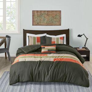 Zone Mi Zone Circuit Comforter Set, Grey, King