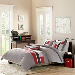 Zone Mi Zone Circuit Comforter Set, Grey, Twin