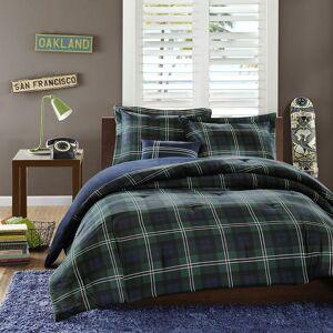 Zone Mi Zone Cameron Reversible Comforter Set, Blue, Full/Queen