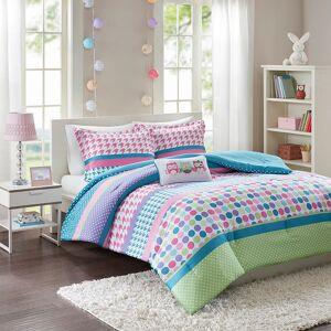Zone Mi Zone Jenny Comforter Set, Blue, Twin