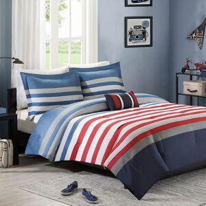 Zone Mi Zone Noah Comforter Set, Red, Full/Queen