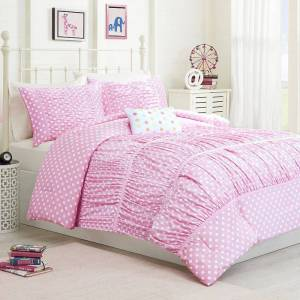 Zone Mi Zone Penelope Comforter Set, Pink, Twin