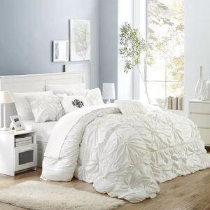 Chic Home Halper 6-piece Bed Set, White, King