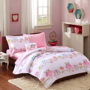 Zone Mi Zone Kids Nocturnal Nellie Bed Set, Pink, Queen