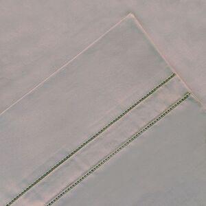 Pointehaven 4-piece 620 Thread Count Cotton Sheet Set, Grey, Queen Set