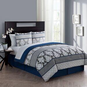 VCNY Home VCNY Beckham Bedding Set, Blue, Twin