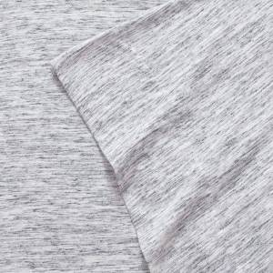 Urban Habitat Space Dyed Cotton Jersey Knit Sheet Set, Grey, Queen