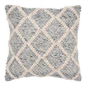 Rizzy Home Erika Donny O Home Throw Pillow, Grey, 20X20