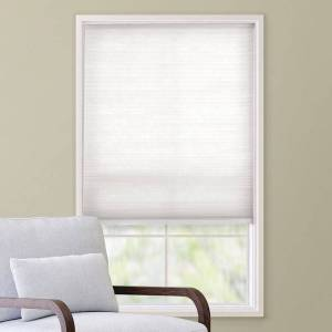 """Custom Cut to Order Cordless Cellular Shade - 64'' Length, White, 32.5"""" Wide"""