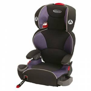 Graco High Back AFFIX Booster Seat, Black