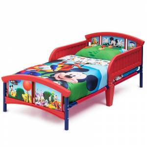 Disney s Mickey Mouse Toddler Bed by Delta Children