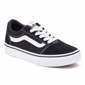 Vans Ward Low Kids' Skate Shoes, Boy's, Size: 2, Black