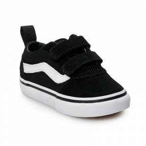Vans Ward V Toddler Skate Shoes, Toddler Boy's, Size: 7 T, Black