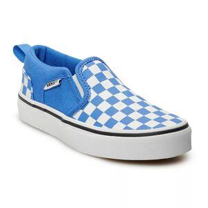 Vans Asher Kids' Skate Shoes, Boy's, Size: 12, Med Blue