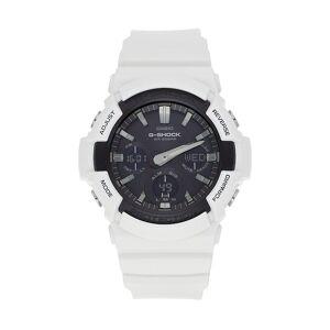 Casio Men's G-Shock Analog-Digital Tough Solar Watch - GAS100B-7A, Size: XL, White
