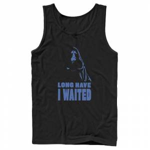 Men's Star Wars: The Rise Of Skywalker Long Have I Waited Tank, Size: Small, Black