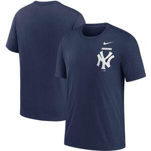 Nike Men's Nike Navy New York Yankees Color Bar Tri-Blend T-Shirt, Size: Medium, Blue
