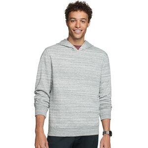 Van Heusen Men's Van Heusen Classic-Fit Space-Dye Hoodie, Size: Medium, Med Grey
