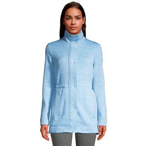 Lands' End Women's Lands' End Utility Sweater Fleece Coat, Size: XL, Blue