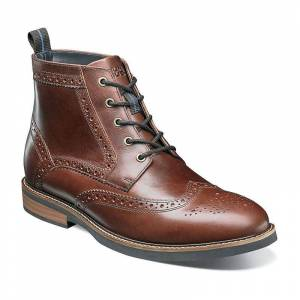 Nunn Bush Odell Men's Wingtip Dress Boots, Size: Medium (12)