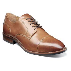 Nunn Bush Fifth Ave Flex Mens Cap Toe Dress Oxfords, Men's, Size: Medium (7.5), Beig/Green