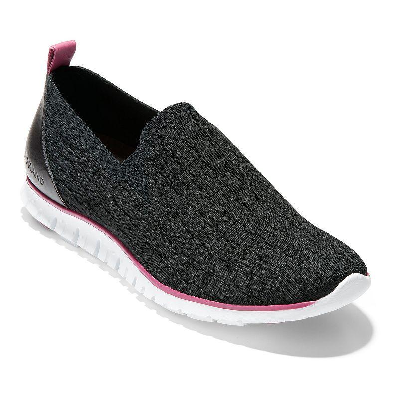 Cole Haan ZeroGrand Distance Women's Slip-On Shoes, Size: 7, Black