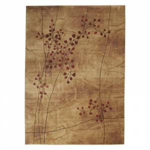 Nourison Somerset Floral Area Rug, Brown, 2X3 Ft