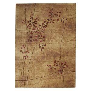 Nourison Somerset Floral Area Rug, Brown, 2X6 Ft