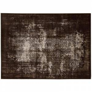 Nourison Karma Distressed Rug, Brown, 5X7 Ft