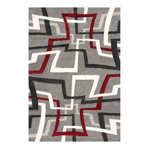 Art Carpet Romest Geometric Rug, Grey, 5X8 Ft
