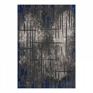 Art Carpet Twister Abstract Rug, Grey, 5X8 Ft