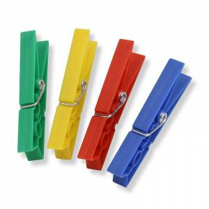Honey-Can-Do 200-pk. Classic Plastic Clothespins
