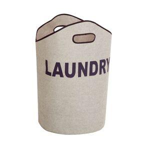 Honey-Can-Do Laundry Tote, Grey, HAMPER