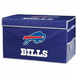 Buffalo Franklin Sports Buffalo Bills Small Collapsible Footlocker Storage Bin, Team