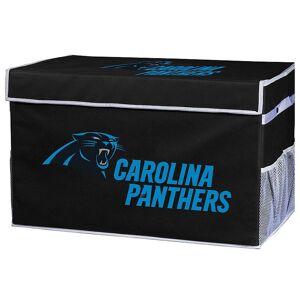 Franklin Sports Carolina Panthers Small Collapsible Footlocker Storage Bin, Team