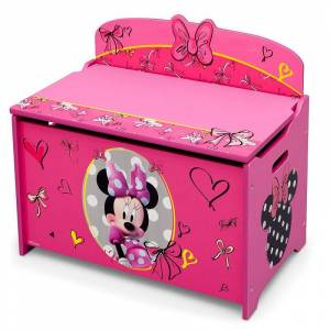 Disney s Minnie Mouse Deluxe Toy Box by Delta Children