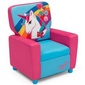 Delta Children JoJo Siwa High Back Upholstered Chair, Pink