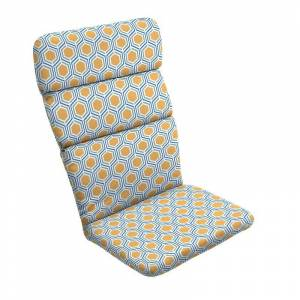 Arden Selections Outdoor Adirondack Chair Cushion, Yellow