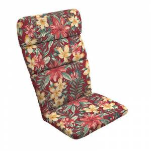 Arden Selections Outdoor Adirondack Chair Cushion, Red